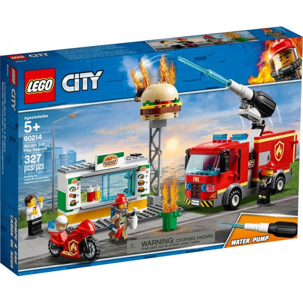 LEGO Burger Bar Fire Rescue 60214 ΠΑΙΧΝΙΔΙΑ alfavitari.com