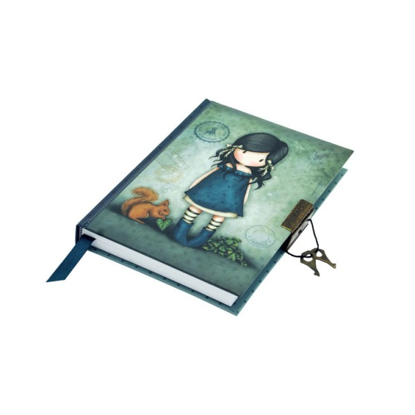 Gorjuss Vacation Lockable Notebook – You Brought Me Love – 577GJ07